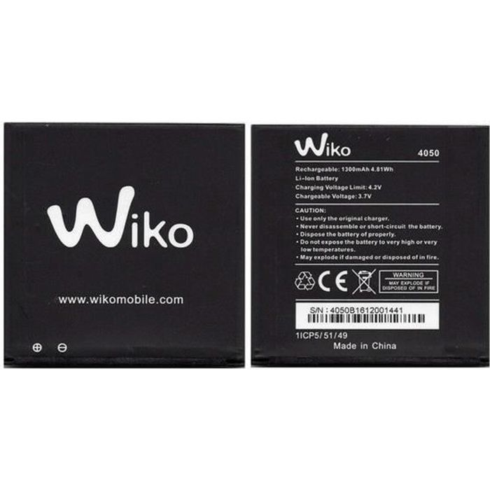 Batterie Wiko 4050 - Wiko Sunny 2