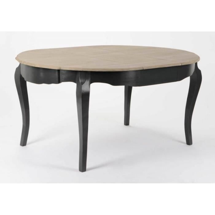 table ronde avec rallonges achat vente table ronde avec rallonges pas cher cdiscount. Black Bedroom Furniture Sets. Home Design Ideas