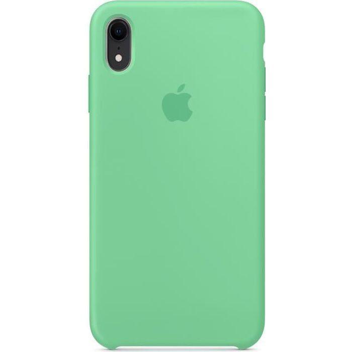 Coque en silicone compatible pour iPhone XR - Ment