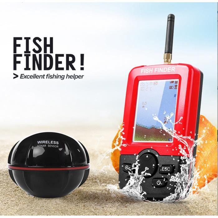 OUTILLAGE PÊCHE Smart portable profondeur Fish Finder avec 100 m s
