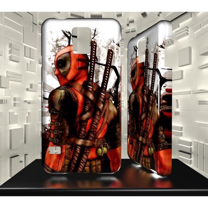 Coque Samsung Galaxy S5 Mini Deadpool 05