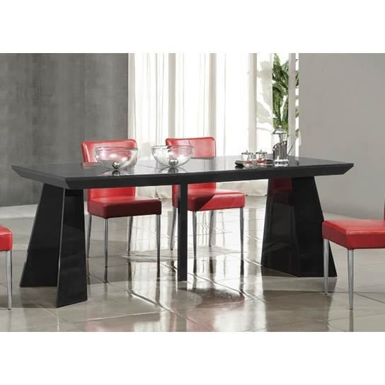 Table console a rallonges noir achat vente console - Table a rallonge console ...