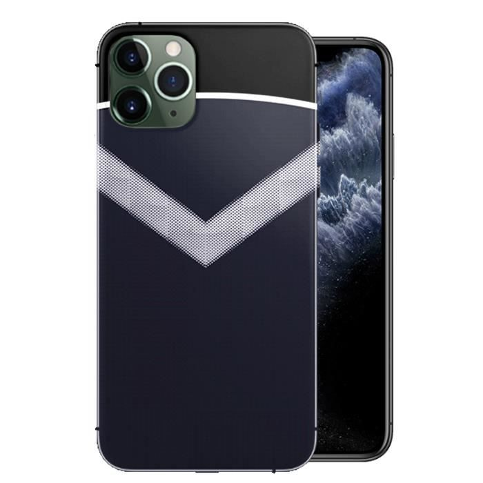 Coque iPhone 11 Foot Bordeaux / Personnalise ta Coque Football ...