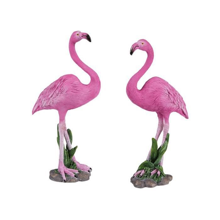 flamant rose decoration achat vente flamant rose decoration pas cher cdiscount. Black Bedroom Furniture Sets. Home Design Ideas