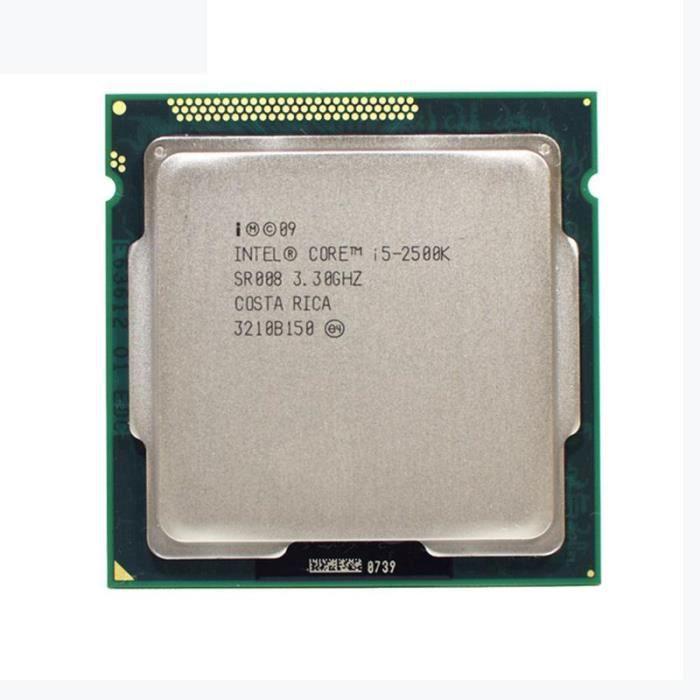 PROCESSEUR Intel i5 2500 K Quad-Core 3.3 GHz LGA 1155 Process
