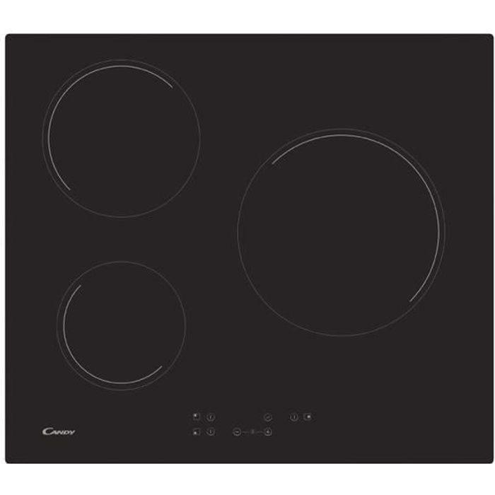 Induction cuisson 60 cm PKM vitrocéramique installation B 590 x T 520 mm