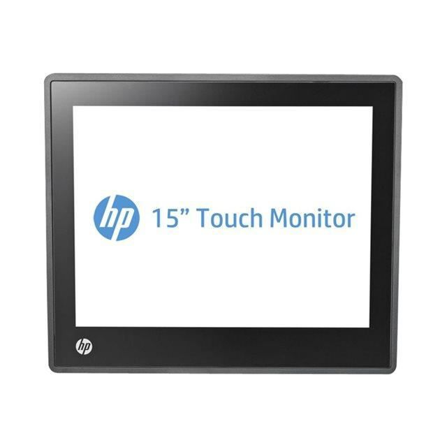hp l6015tm retail touch monitor cran led 15 prix pas cher cdiscount. Black Bedroom Furniture Sets. Home Design Ideas