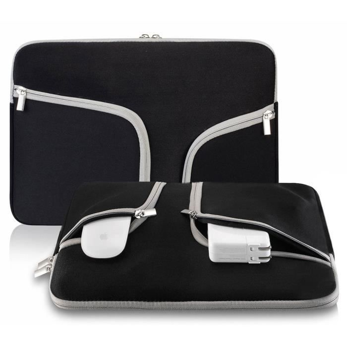 Etui Sacoche Sleeve Macbook Ordinateur Housse Pouces Noir 4 Ivencase Pro Air Tablette Portable 15 Sac 15 Netbook 4gqgnw7SO