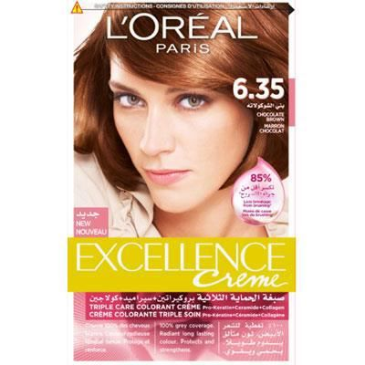 coloration excellence crme loral brun chocolat 635 - Marron Chocolat Coloration