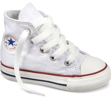 converse all star hi baby b b b blanc blanc achat vente basket soldes d t cdiscount. Black Bedroom Furniture Sets. Home Design Ideas