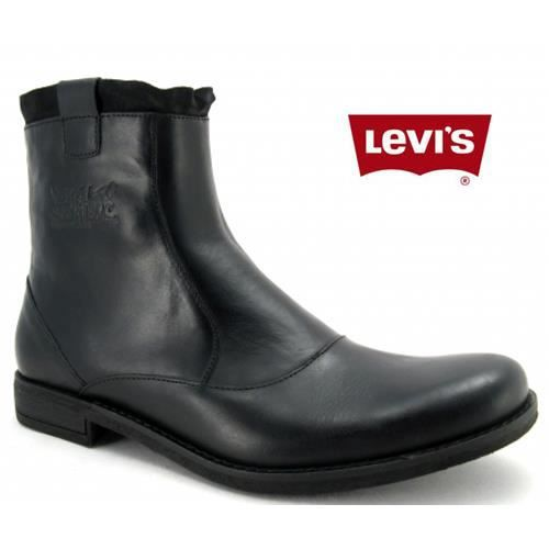 bottines levis cuir maine lace z noir noir achat vente bottine cdiscount. Black Bedroom Furniture Sets. Home Design Ideas