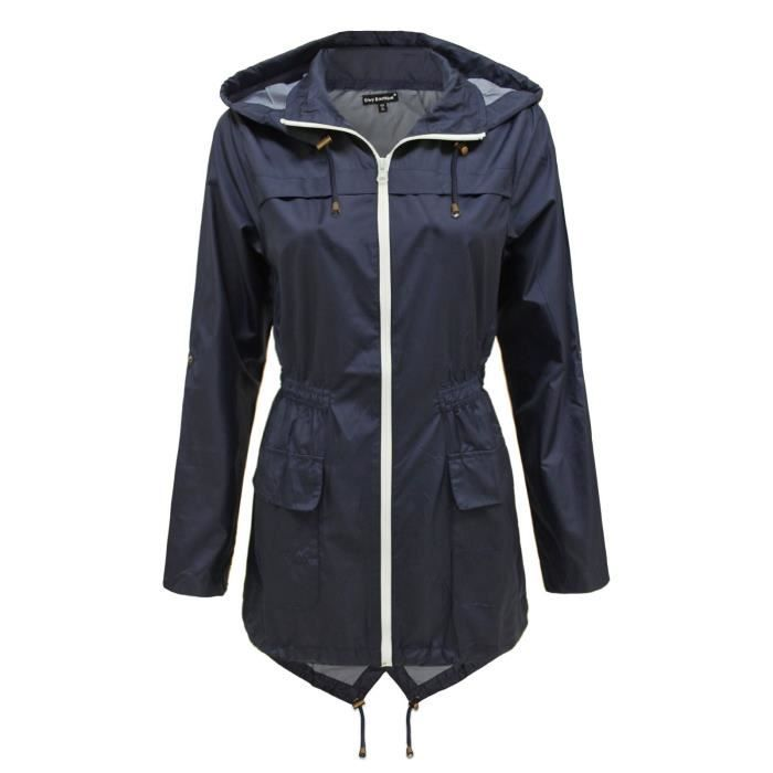 parka femme imperm able achat vente imperm able trench cdiscount. Black Bedroom Furniture Sets. Home Design Ideas