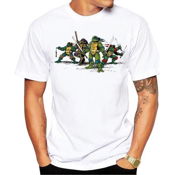tee shirt homme tortue ninja pas cher