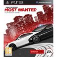 JEUX PLAYSTATION 3 NEED FOR SPEED MOST WANTED / Jeu console PS3