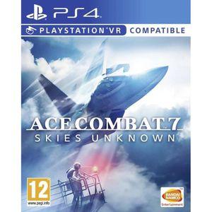 JEU PS4 Ace Combat 7 : Skies Unkown Jeu PS4/VR