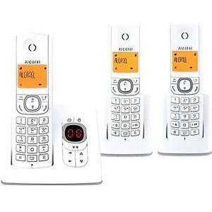Téléphone fixe Alcatel F530 Voice Trio Repondeur gris