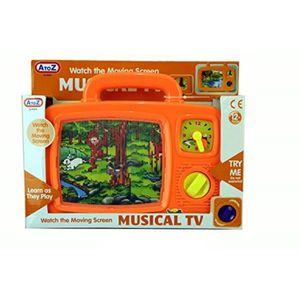 POUPON Poupon CGIM4 AZ Musical TV (couleurs assorties