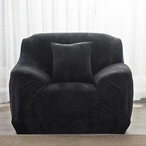 HOUSSE DE FAUTEUIL Housse de fauteuil Velours Salon Couverture Extens