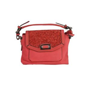 SAC À MAIN Petit Sac à Main Strass Rouge