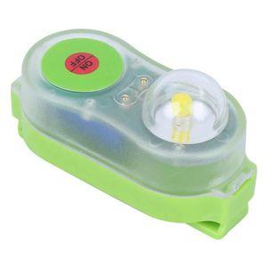 Lampe de Gilet de Sauvetage en Plastique Automatique pour Les Voyages de Camping AMONIDA Lampe de Gilet de Sauvetage /à LED lumi/ère de Gilet de Sauvetage /à LED