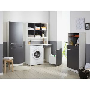 doris ensemble buanderie gris achat vente salle de bain complete doris ensemble. Black Bedroom Furniture Sets. Home Design Ideas
