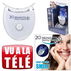 SOIN BLANCHIMENT DENTS Kit de blanchissement des dents 20 Minutes Dental