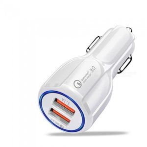 PRISE ALLUME-CIGARE Chargeur de voiture rapide3.1A QC 3.0 Chargeurs al