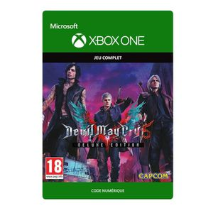 JEU XBOX ONE À TÉLÉCHARGER Devil May Cry 5: Digital Deluxe Edition Jeu Xbox O