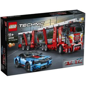 ASSEMBLAGE CONSTRUCTION LEGO® Technic 42098 Le transporteur de voitures