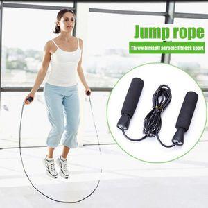 Fitness /à la Maison Aprllolg Corde /à Sauter lest/ée de Fitness Longueur r/églable pour entra/înement Endurance