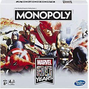 JEU SOCIÉTÉ - PLATEAU Monopoly - Jeu de societe Monopoly Marvel 80 ans C