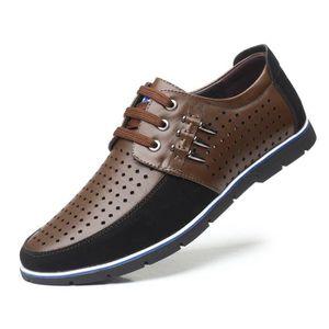 Homme Lace Up Oxford Chaussures Pointu Toe Brogue Derby en Daim Plat Chaussures De Marche Formelle Robe Habill/ée De Mariage Chaussures Grande Taille 38-48