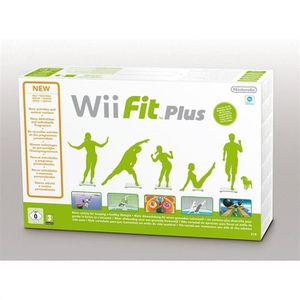 JEUX WII Wii FIT PLUS (Wii Balance Board inclus)