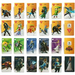 PACK ACCESSOIRE 22PCS Carte de jeu Zelda NFC NTAG215 Jeu NFC Carte