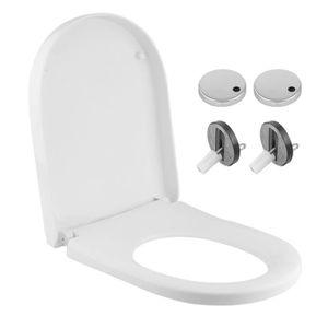 Roca Paire de si/ège WC chevilles de fixation pour charni/ères amovible
