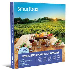 COFFRET SÉJOUR SMARTBOX - Coffret Cadeau - Week-end charme et sav