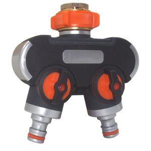 4 voies-de Distribution d/'eau de distribution tuyau distributeur réglables Tuyau d/'arrosage
