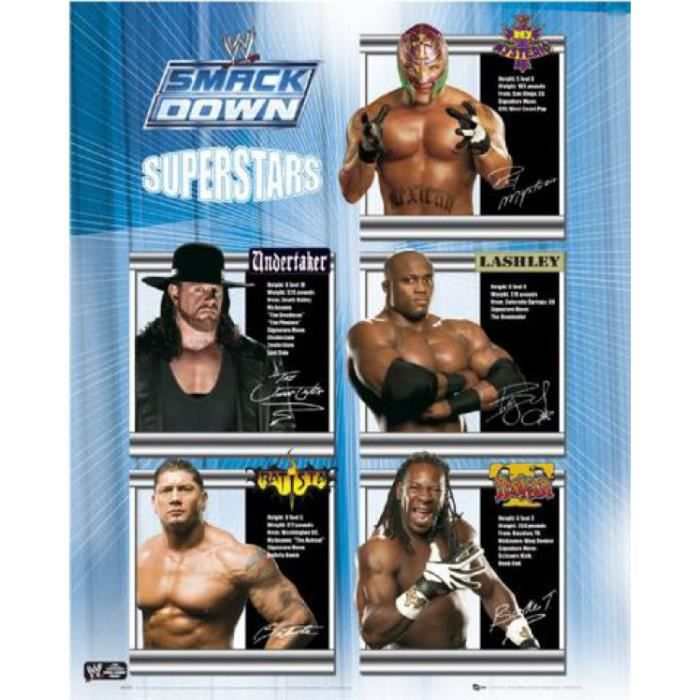 Le Catch Mini Poster - WWE, Smackdown Superstar...