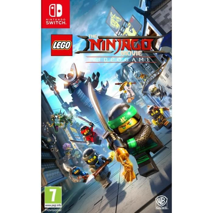 Lego Ninjago, Le Film : Le Jeu Video sur Switch