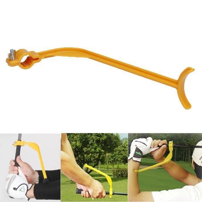 Aide à la formation de guide d'oscillation de golf - formateur pour le geste de contrôle de correcteur de bras de poignet PACK