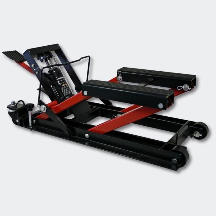 Pont Élévateur Plateforme Élevatrice Moto Support Levage ATV 680kg 3416139