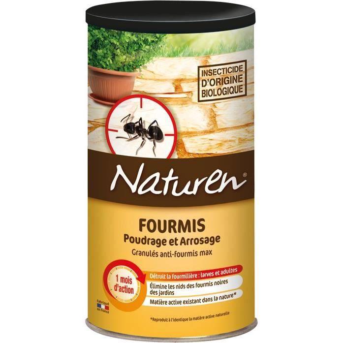NATUREN Anti-Fourmis poudrage et arrosage - 250G