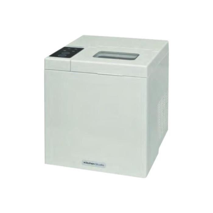 Kitchen Studio KSIM-10B Machine à glaçons pose libre largeur : 24 cm profondeur : 26.2 cm hauteur : 29 cm blanc laqué