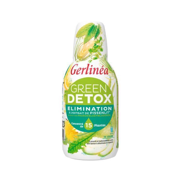 GERLINEA Préparation Green Detox - 500 ml