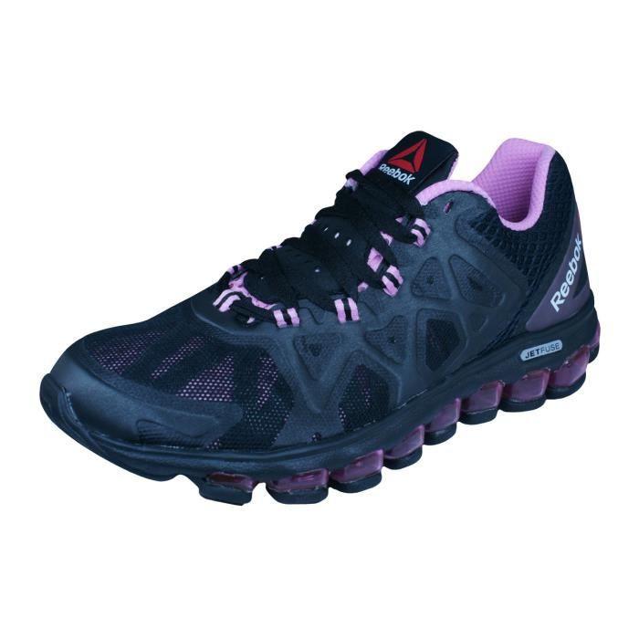 Reebok ZJet Burst Chaussures de course pour femme Noir 3.5