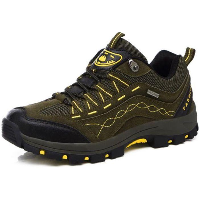 Chaussures randonnée voyages d'aventure à l'écotourisme sports en plein air hommes Chaussures d'alpinisme