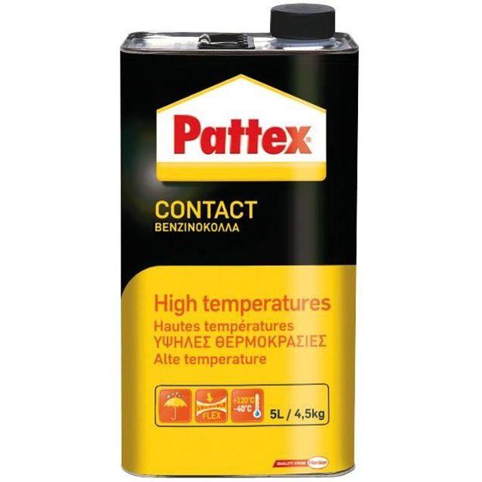 Pattex colle contact spéciale haute température 4.5kg