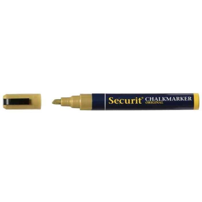 Marqueur Craie ORIGINAL MEDIUM Pte Biseautée 2 - 6 mm Or