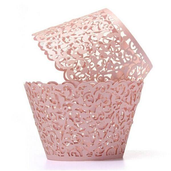 50pcs coupe au laser des emballages de petits gâteaux décorations de mariage anniversaire fête de MULTICUISEUR ELECTRIQUE