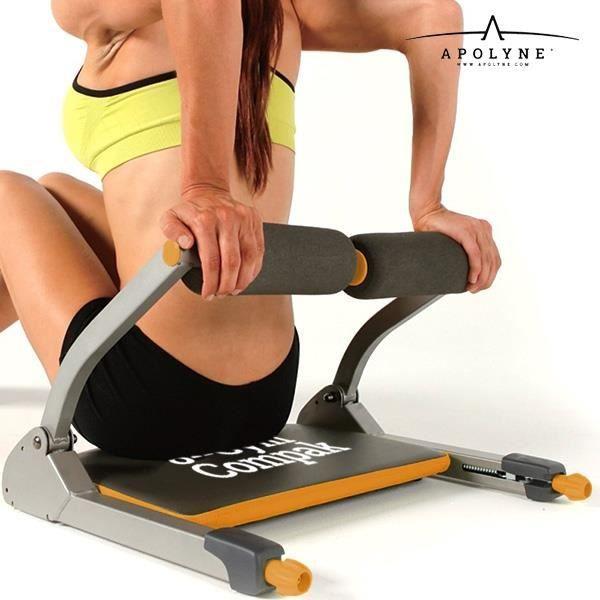 QTOKO Flexifit Appareil Fitness Musculation Homme Femme Kit Sport Chrono Muscler Abdominaux fessiers Cuisses Bras Entrainement /à la Maison Equipement R/ésistant